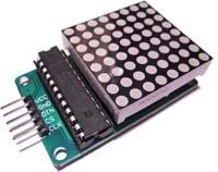 Matrici LED 8×8 con Arduino e MAX7219