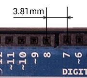 Adattatore proto shield millefori per Arduino
