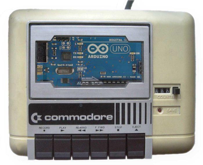 Reverse engineering dei segnali della porta tape del Commodore 64 con Arduino